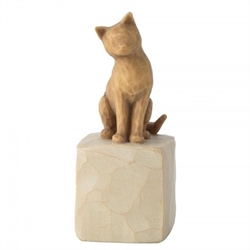 WILLOW TREE - LOVE MY CAT (LIGHT) H:7,5CM