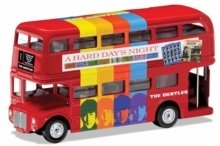 THE BEATLES - London Bus - 'A Hard Day's Night' Die Cast 1:64 Scale