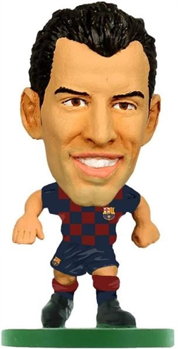 Soccerstarz - BARCELONA Sergio Busquets - Home Kit (2020 version)