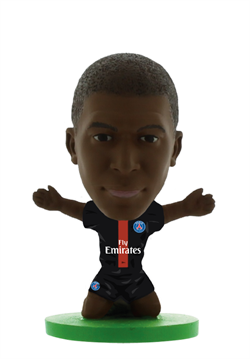Soccerstarz -PARIS ST GERMAIN Kylian Mbappe - Home Kit (2020 version)